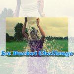 アイス・バケツ・ チャレンジ (Ice Bucket Challenge)  馬上でやるとこうなります