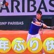 テニスの全仏オープンで錦織圭が自身初の8強進出を決めた