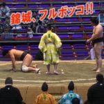 服部桜が戦意喪失した相手・錦城の先場所相撲がフルボッコでスゴすぎ!