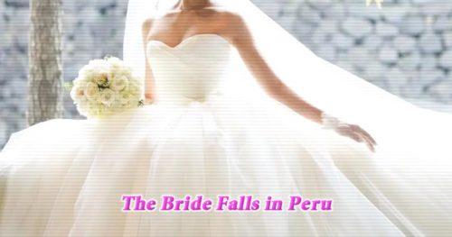 ペルーで見つかった「花嫁の滝」と呼ばれる滝