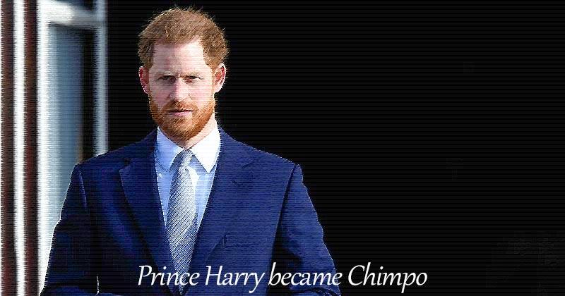 ハリー王子(ヘンリー王子)、Chimpo になる