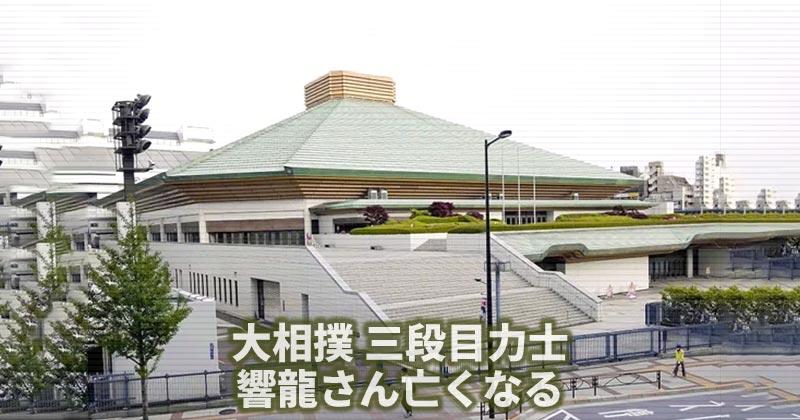 大相撲 三段目力士・響龍さん亡くなる 春場所の頭部強打で入院中